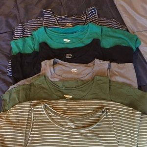 6 Old Navy Simple Tanks